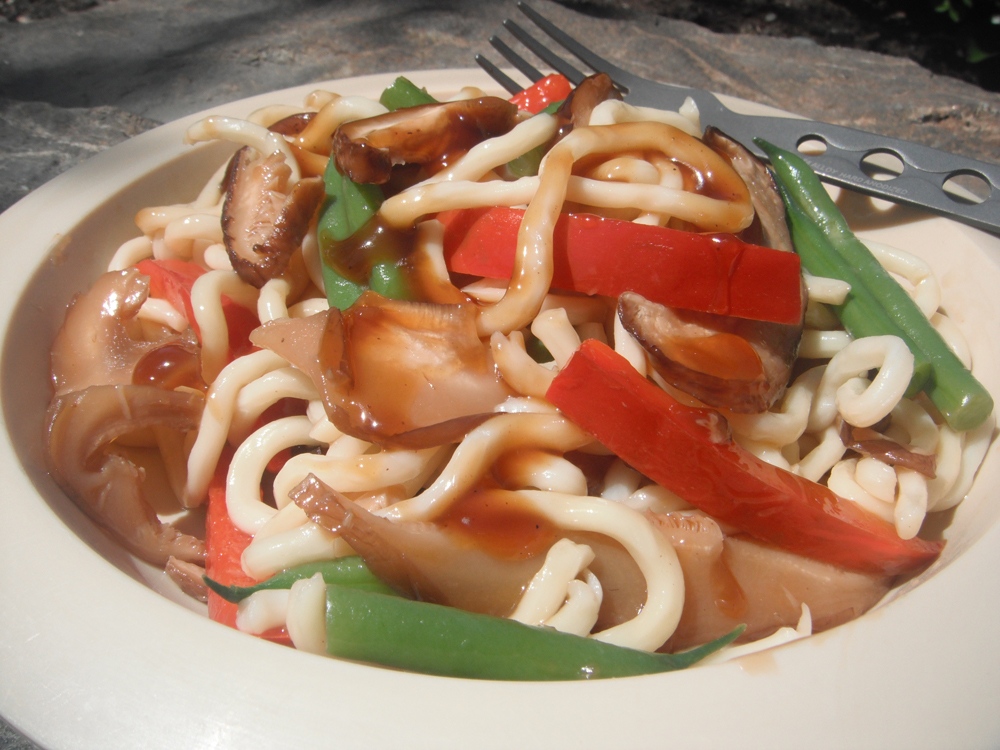 Mushroom and Pepper Stir Fry