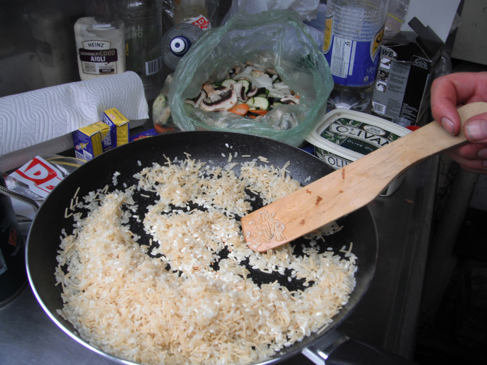 Rice is good